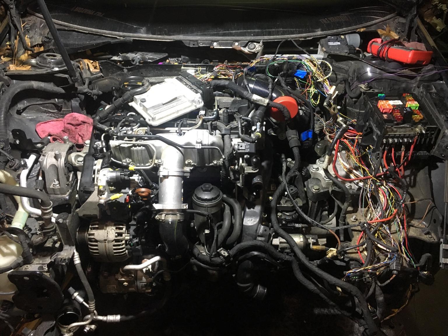 MK5 GTI 2.0L CR TDI Conversion | Malone Tuning Ltd